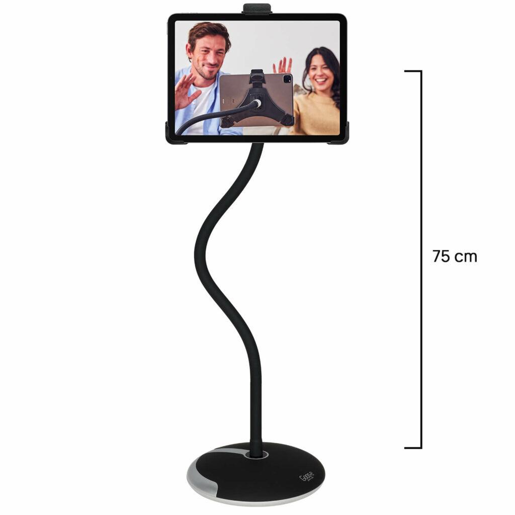 tablet-houder-ipad-standaard-met-voet-en-klem-lange-hals-75-cm-goose