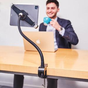 tablet-houder-ipad-standaard-met-voet-en-klem-pro-xl-kantoor-goose