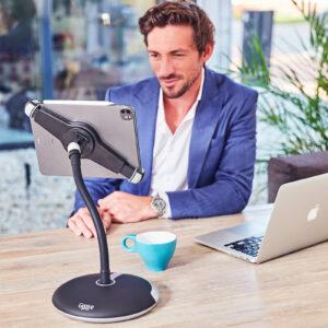 tablet-houder-ipad-standaard-met-voet-en-klem-pro-xl-werk-goose