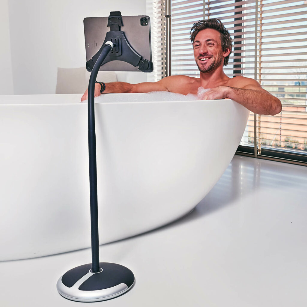 In bad van iPad of tablet genieten GOOS-E