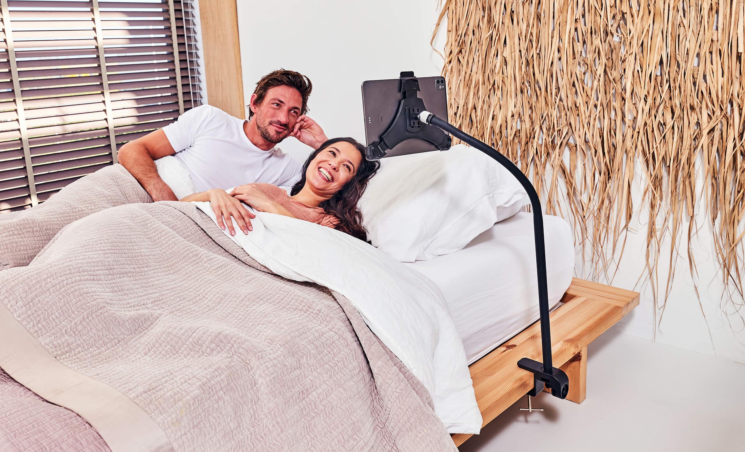 tablet-houder-bed-klem