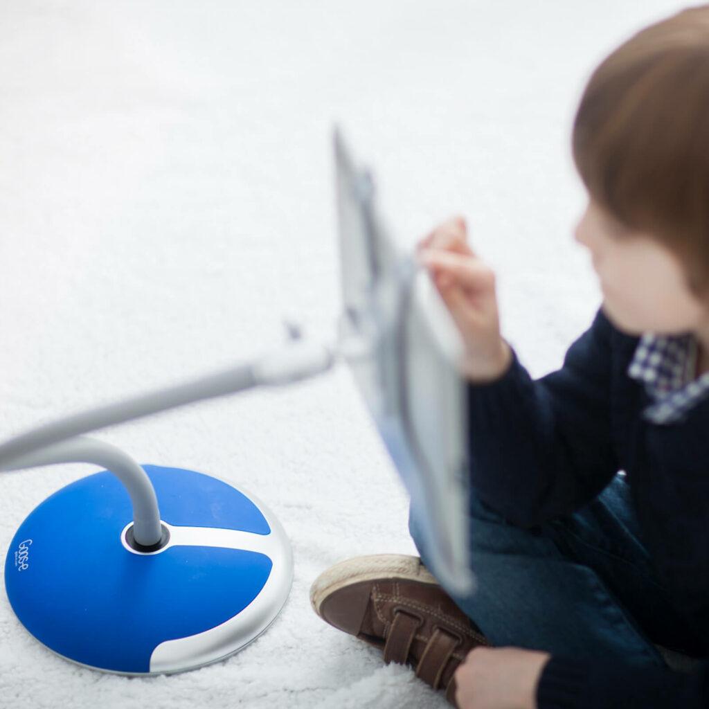Gamen met i-Pad en tablet houder GOOS-E