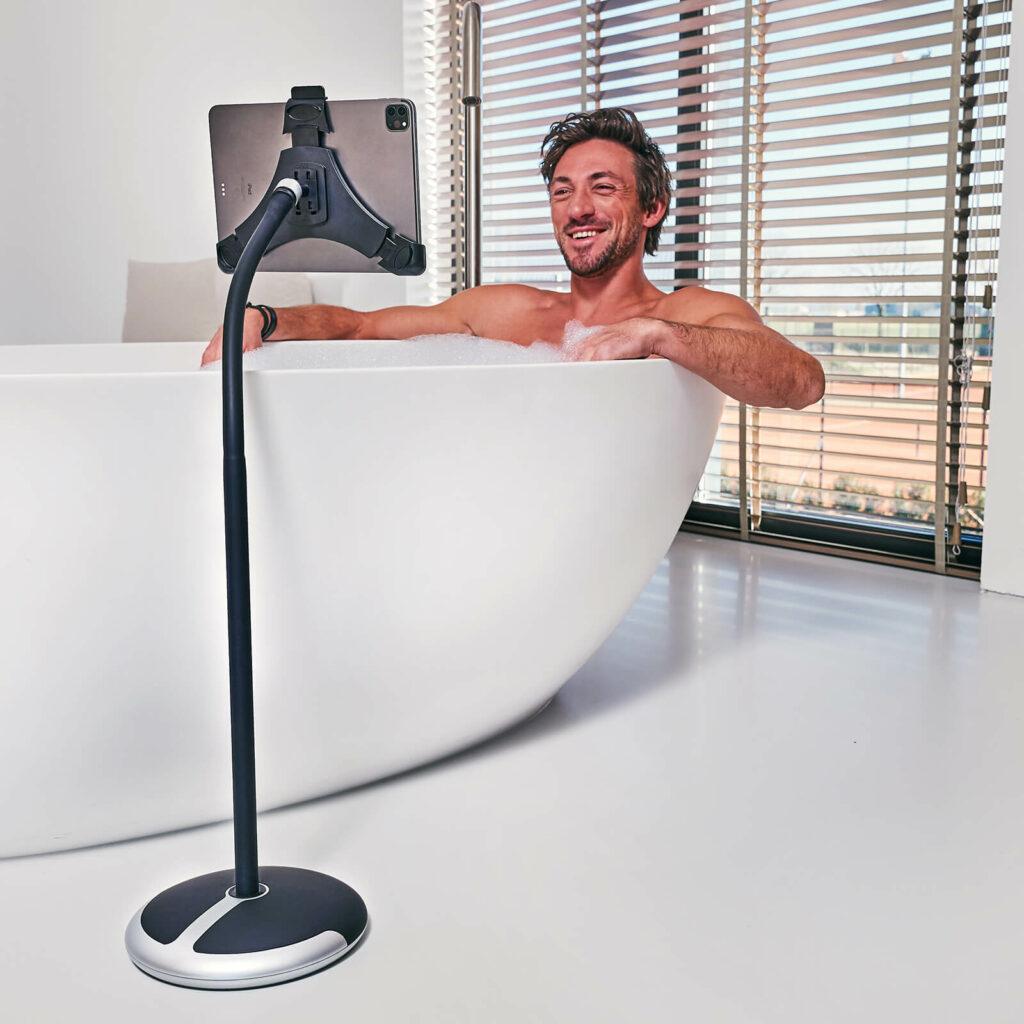 GOOS E Tablet Halterung Badewanne   Maximale Entspannung im Bad