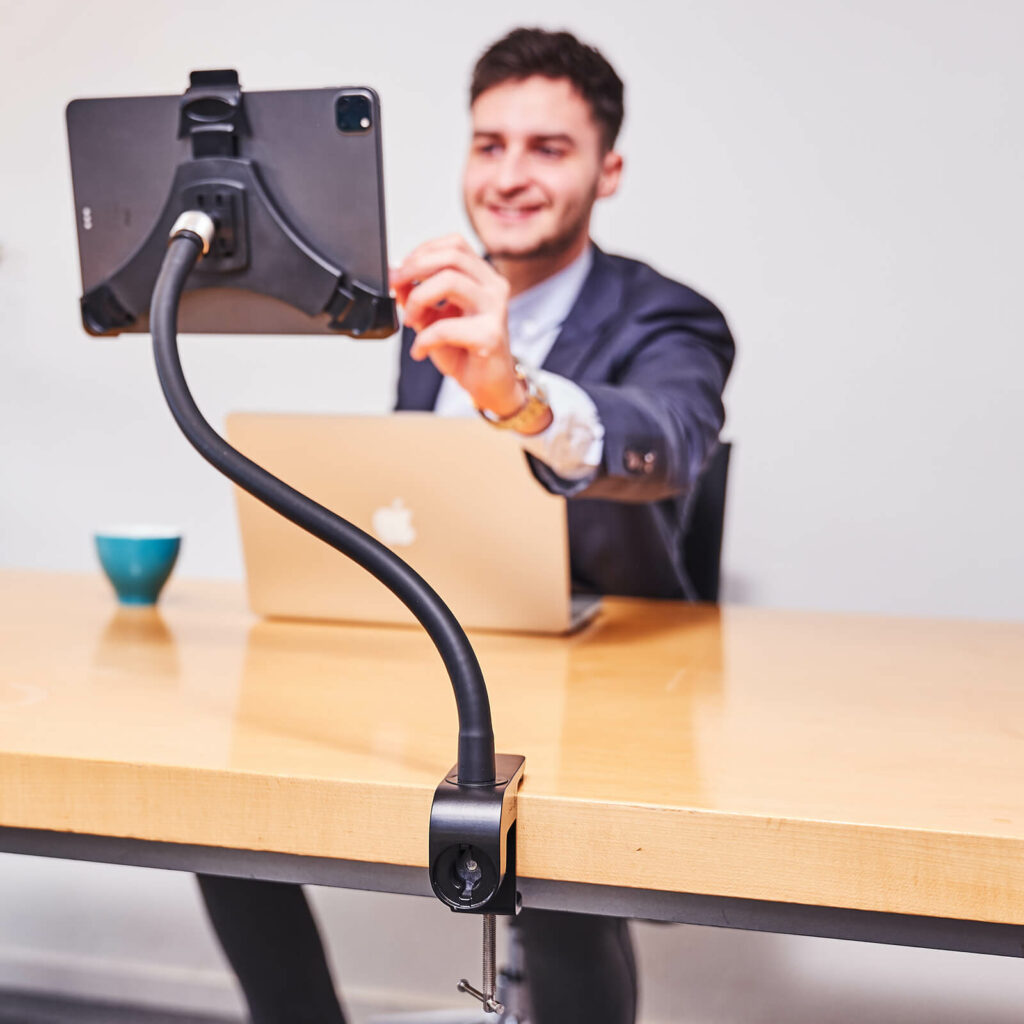 flexibele tablethouder