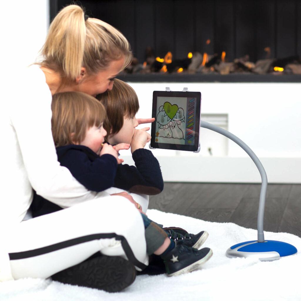 iPad en tablet plezier met kinderen GOOS-E