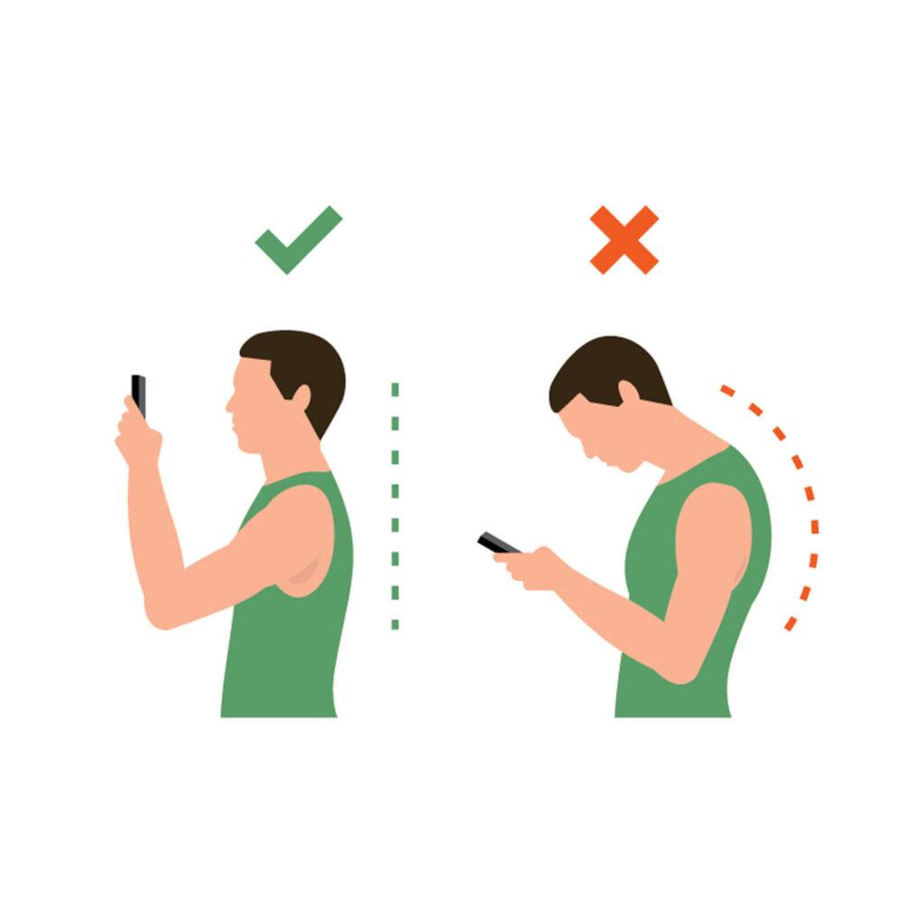 Schulter und Hangelenk schmerzen vermeiden mit Tablet Halterung GOOS-E
