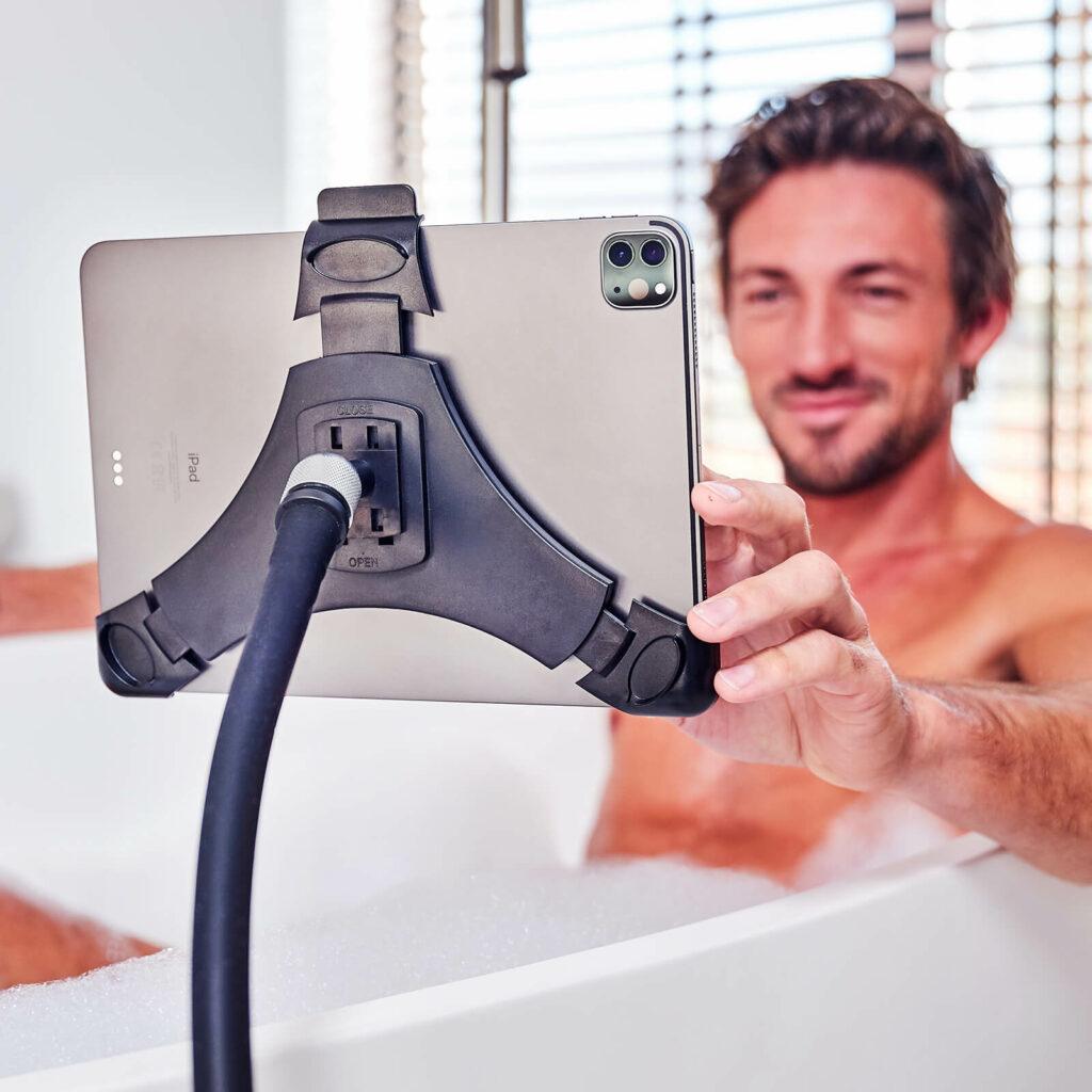 Tablet Halterung fur die Badewanne GOOS-E