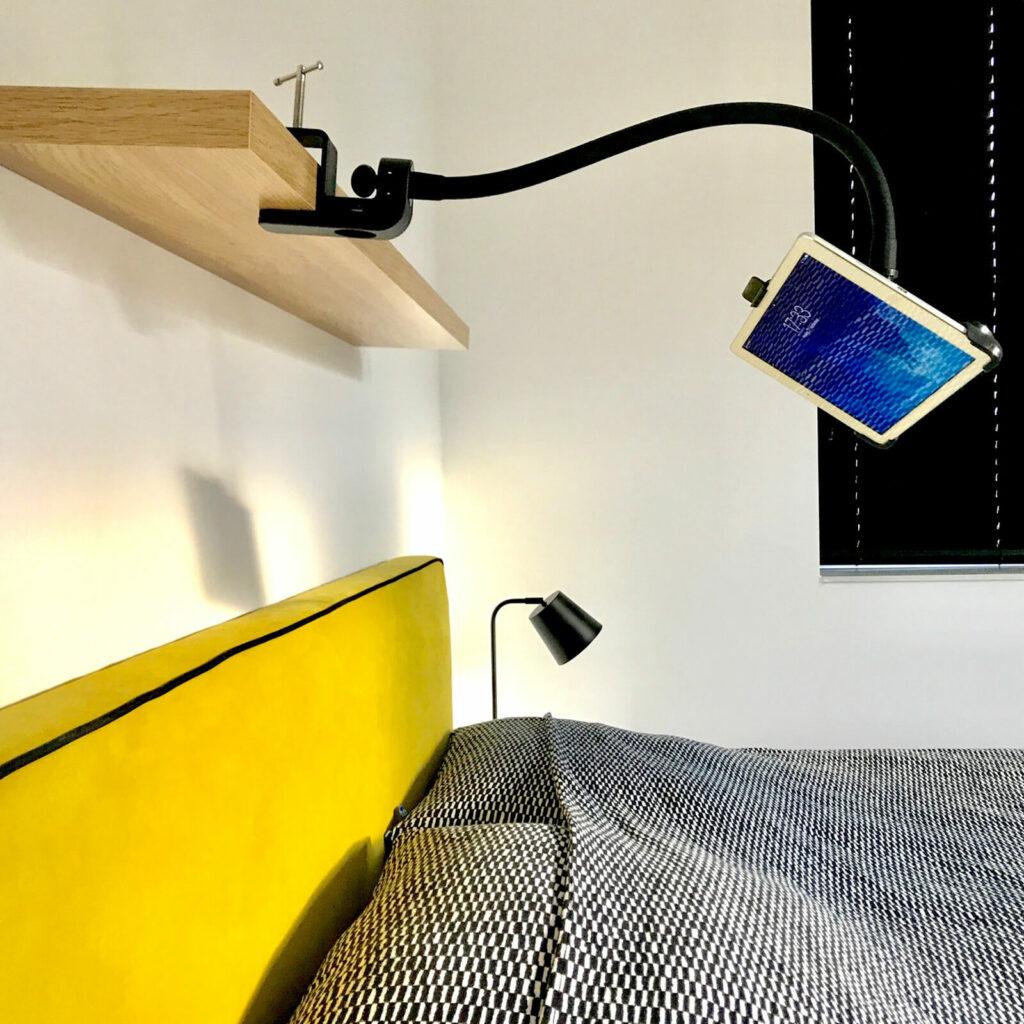 Tablet Halterung iPadhalter oben Bett GOOS-E